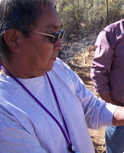Leigh Kuwanwisiwma — Traditional Hopi farmer & Former Director of the Hopi Cultural Preservation Office